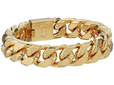 Marc Jacobs Respect Double J Bracelet - Gold