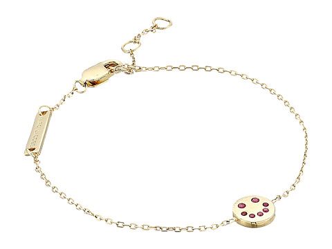 Marc Jacobs Something Special Smiling Face Chain Bracelet - Gold
