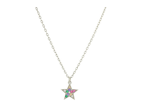 Marc Jacobs Something Special Rainbow Star Pendant Necklace - Silver