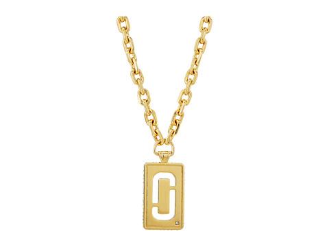 Marc Jacobs Respect J Marc Statement Pendant Necklace - Gold