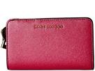 Marc Jacobs Metallic Saffiano Compact Wallet