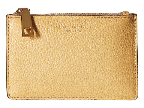Marc Jacobs Recruit Top Zip Multi Wallet - Golden Beige