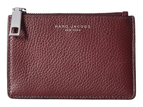 Marc Jacobs Recruit Top Zip Multi Wallet - Blackberry