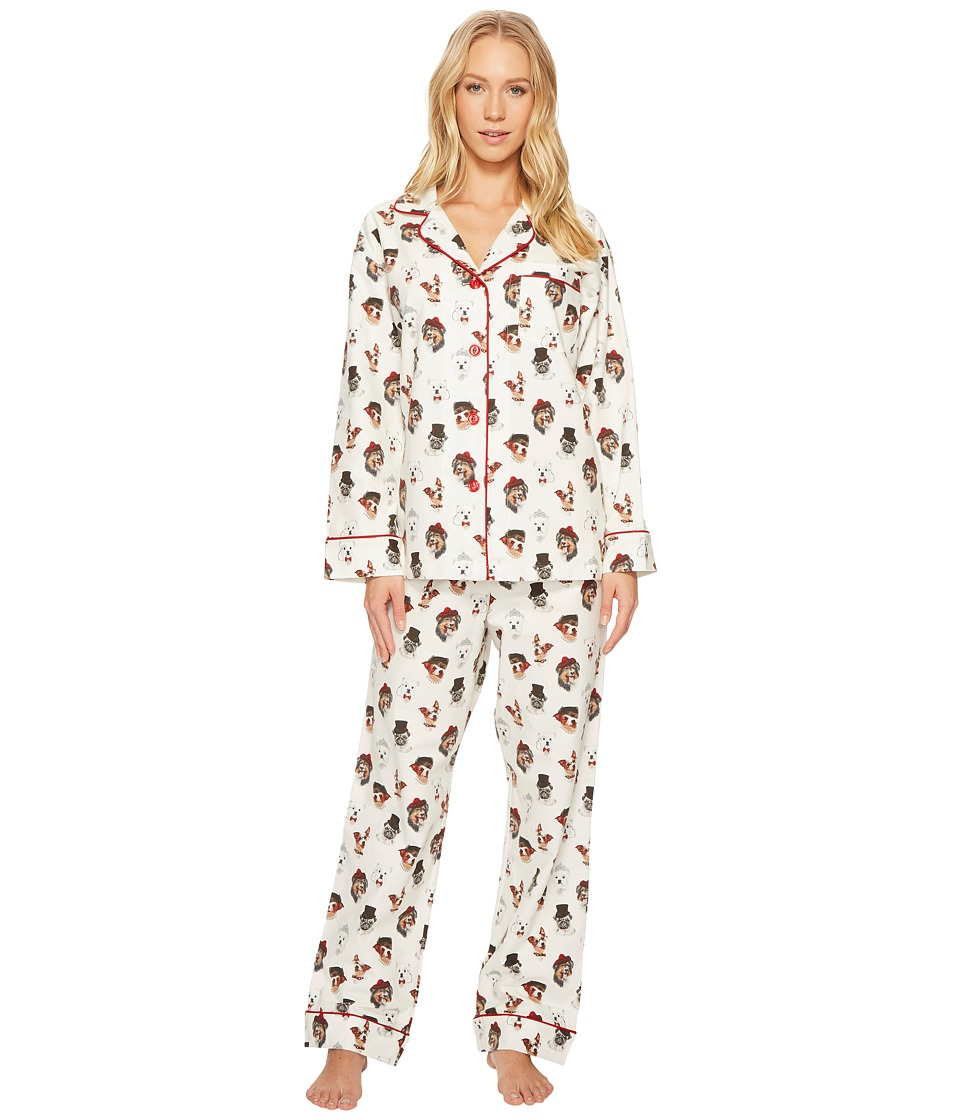 BedHead - Long Sleeve Classic Flannel Pajama Set