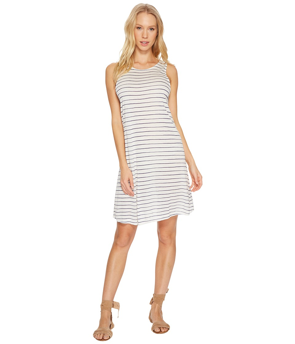 Roxy Sugar Space Knit Dress (Marshmallow Irregulary Stripe) Women