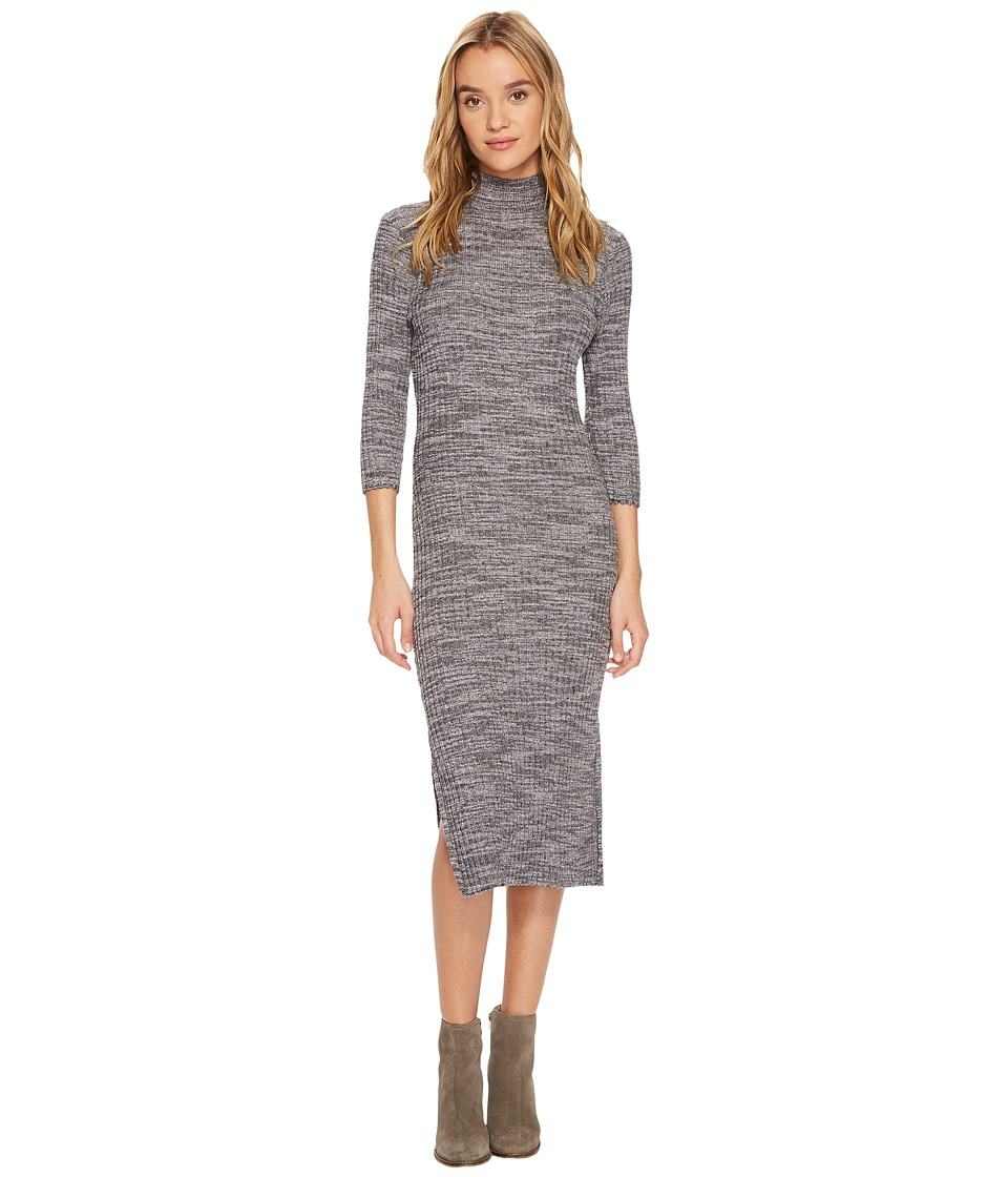 Roxy Hello Fall Knit Dress (Anthracite) Women
