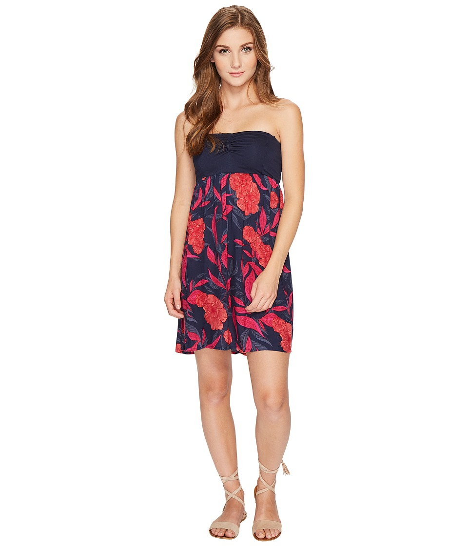 Roxy Ocean Romance Woven Dress (Dress Blues Hojas Americano) Women