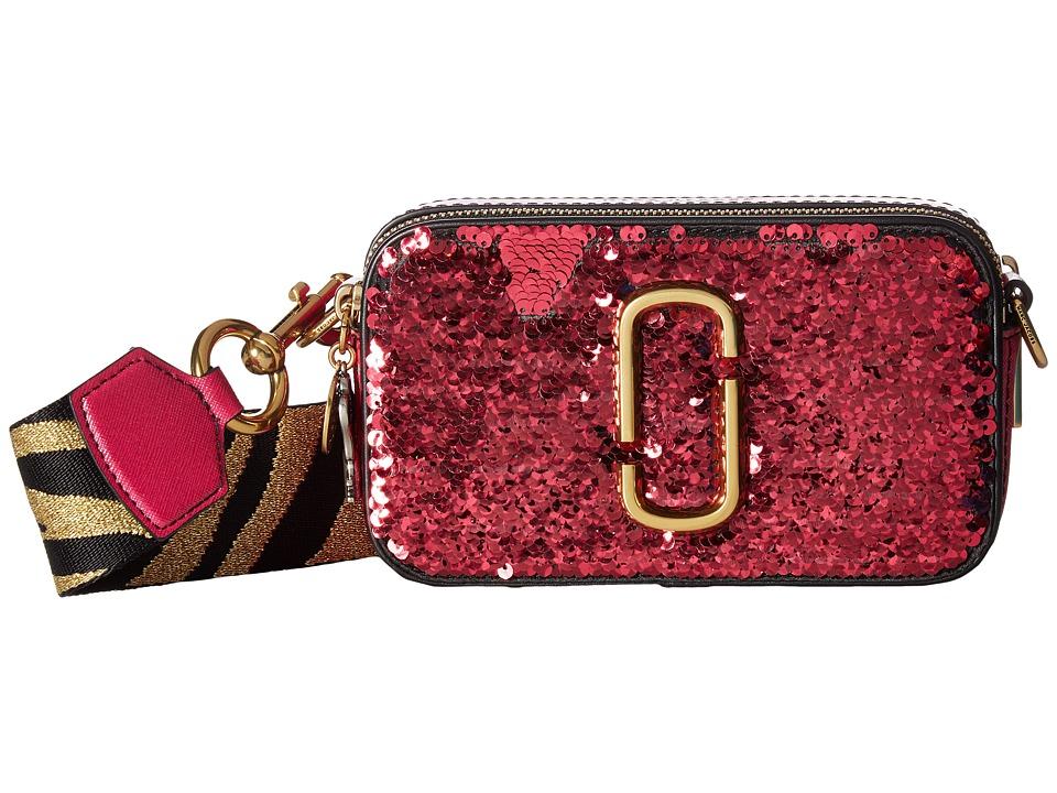 Marc Jacobs Sequin Snapshot (Pink) Handbags