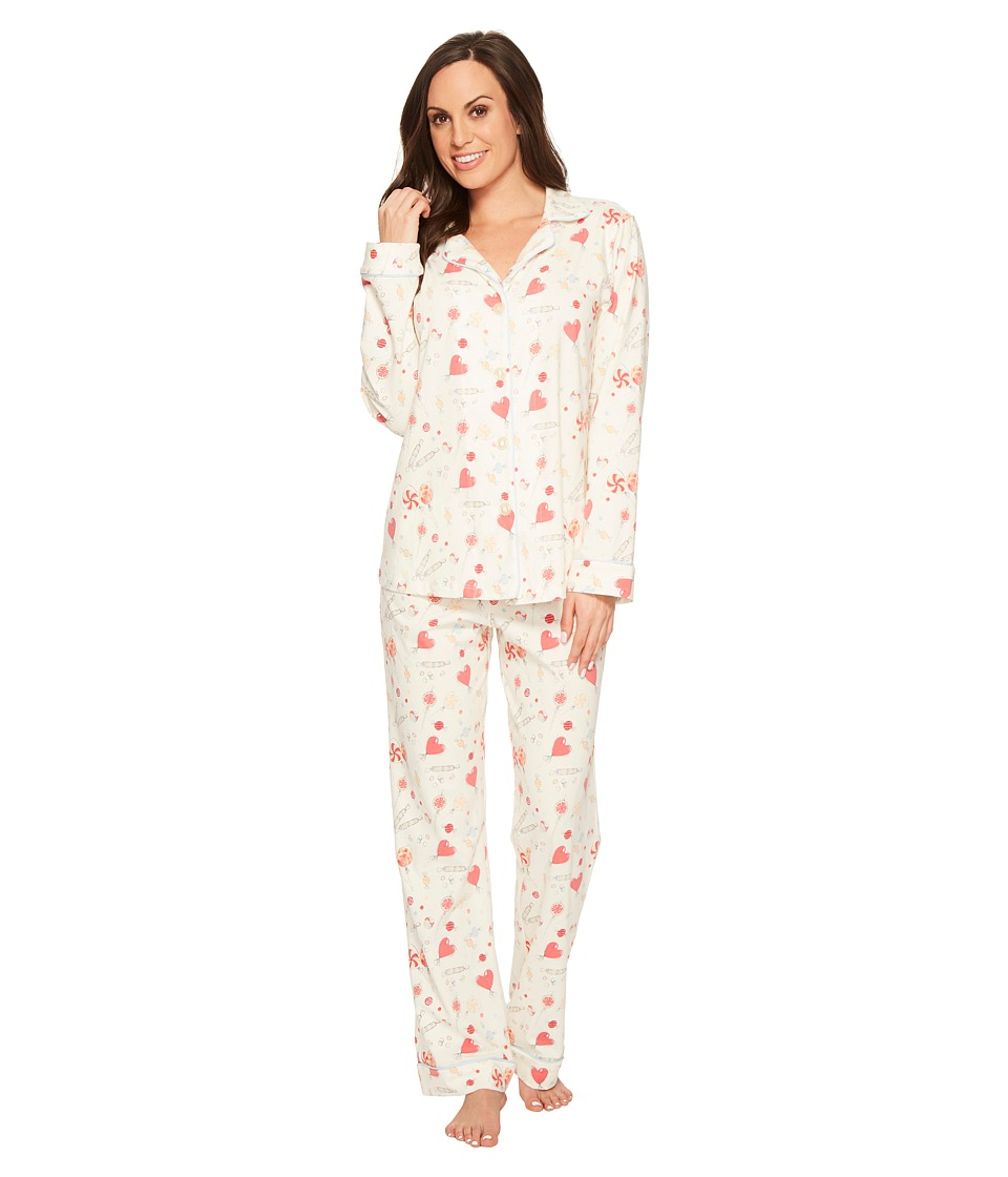 BedHead - Long Sleeve Classic Stretch Knit Pajama Set