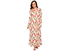 BedHead Long Sleeve Stretch Knit Long Night Gown
