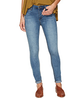 Free People - Gummy Denim High-Rise Roller Crop Jeans