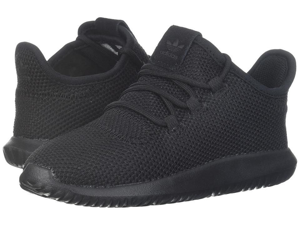 adidas Originals Kids Tubular Shadow (Toddler) (Black/White/Black) Kids Shoes