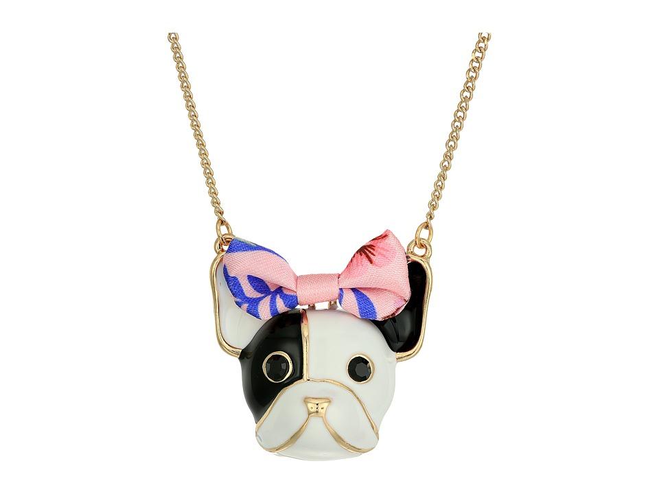 Betsey Johnson - Dog Pendant Necklace