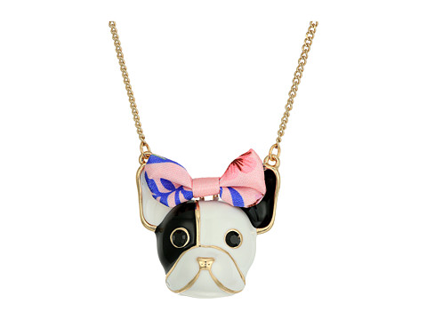 Betsey Johnson Dog Pendant Necklace