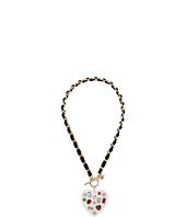 Betsey Johnson - Chain and Ribbon Pendant Necklace