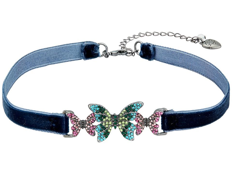 Betsey Johnson - Butterfly Choker Necklace