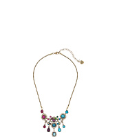 Betsey Johnson - Multicolor and Gold Bib Necklace