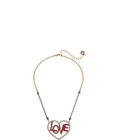 Betsey Johnson - Open Love Pendant Necklace