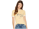Roxy Puerto Pic Golden Sunset Screen Tee