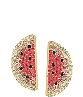 Betsey Johnson - Watermelon Slice Earrings