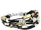 Robert Lee Morris - Leather and Metal Bracelet