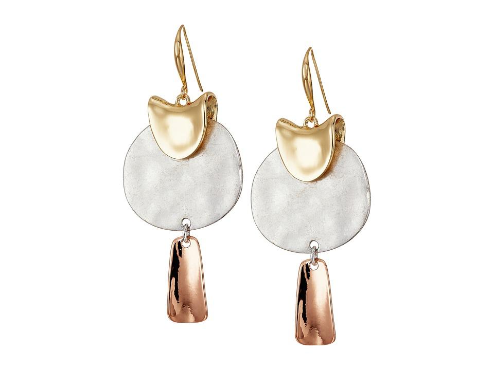 Robert Lee Morris - Sculptural Drop Earrings