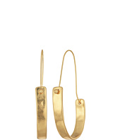 Robert Lee Morris - Large Sculptural Hoops Earrings