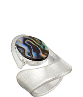 Robert Lee Morris - Silver and Abalone Cut Out 7.5