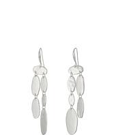 Robert Lee Morris - Hammered Chandelier Earrings