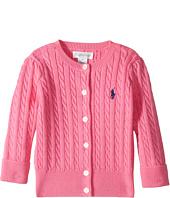 Ralph Lauren Baby - Cable-Knit Cotton Cardigan (Infant)