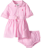 Ralph Lauren Baby - Striped Shirtdress & Bloomer (Infant)