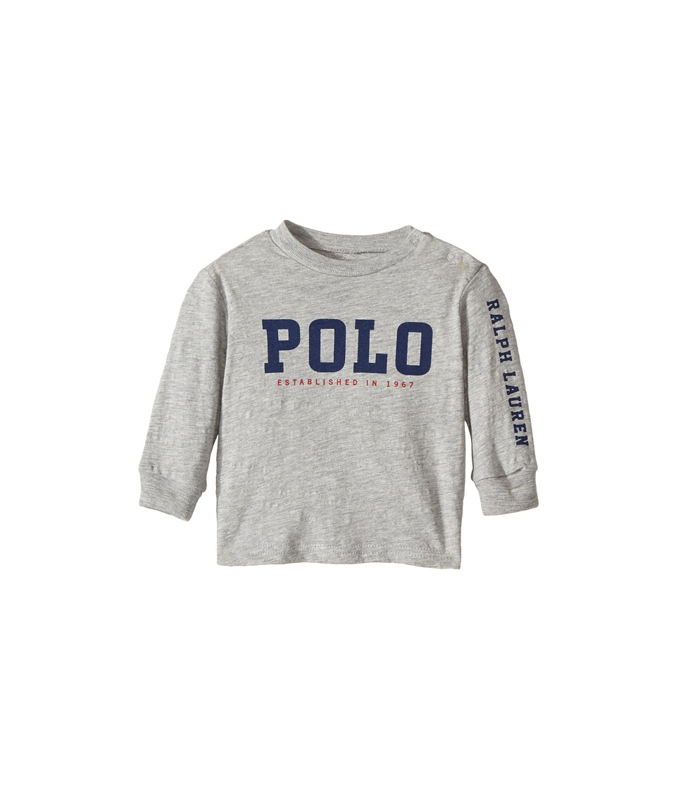Ralph Lauren Baby - Cotton Jersey Graphic Tee