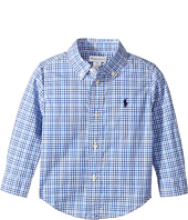 Ralph Lauren Baby - Plaid Cotton Poplin Shirt (Infant)