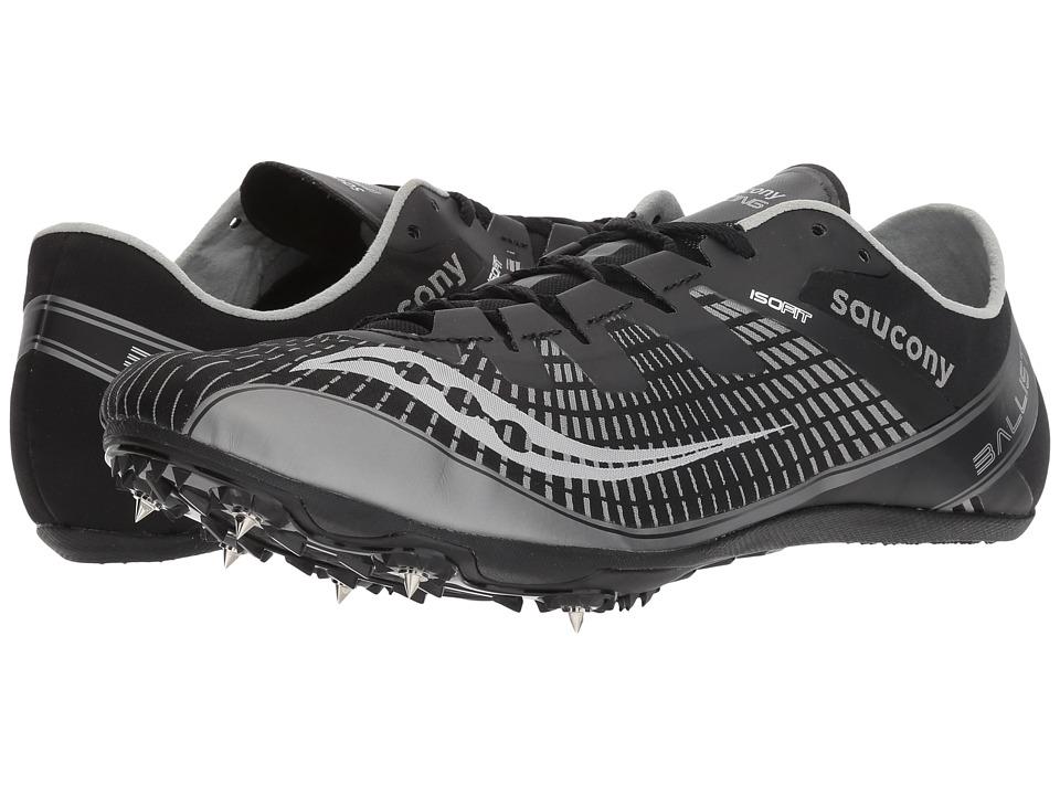 Saucony Ballista 2 (Black/Silver) Men's Shoes