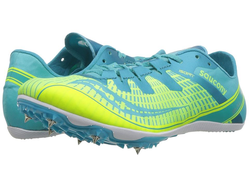 Saucony Ballista 2 (Green/Blue) Women's Shoes