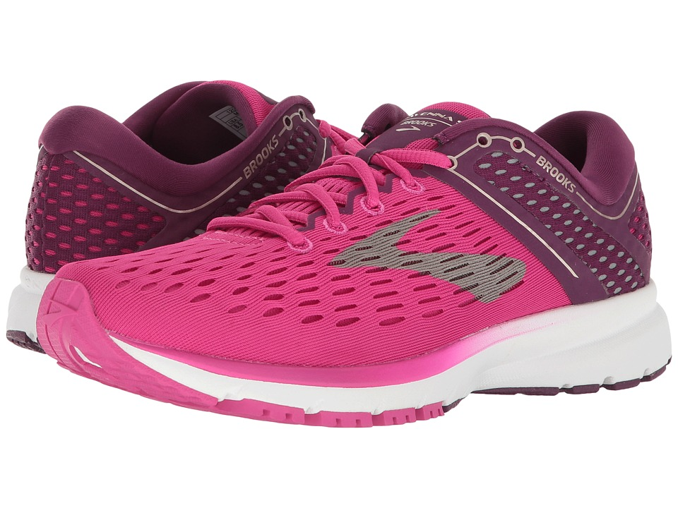 Brooks - Ravenna 9 (Pink/Plum/Champagne) Womens Running Shoes