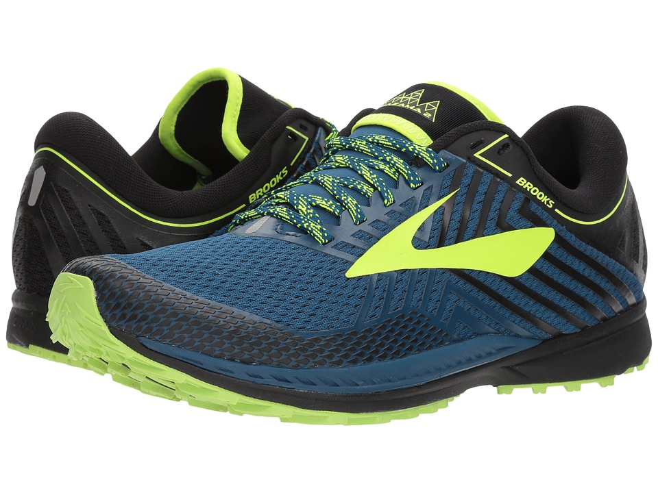 Brooks - Mazama 2 (Blue/Black/Nightlife) Mens Running Shoes