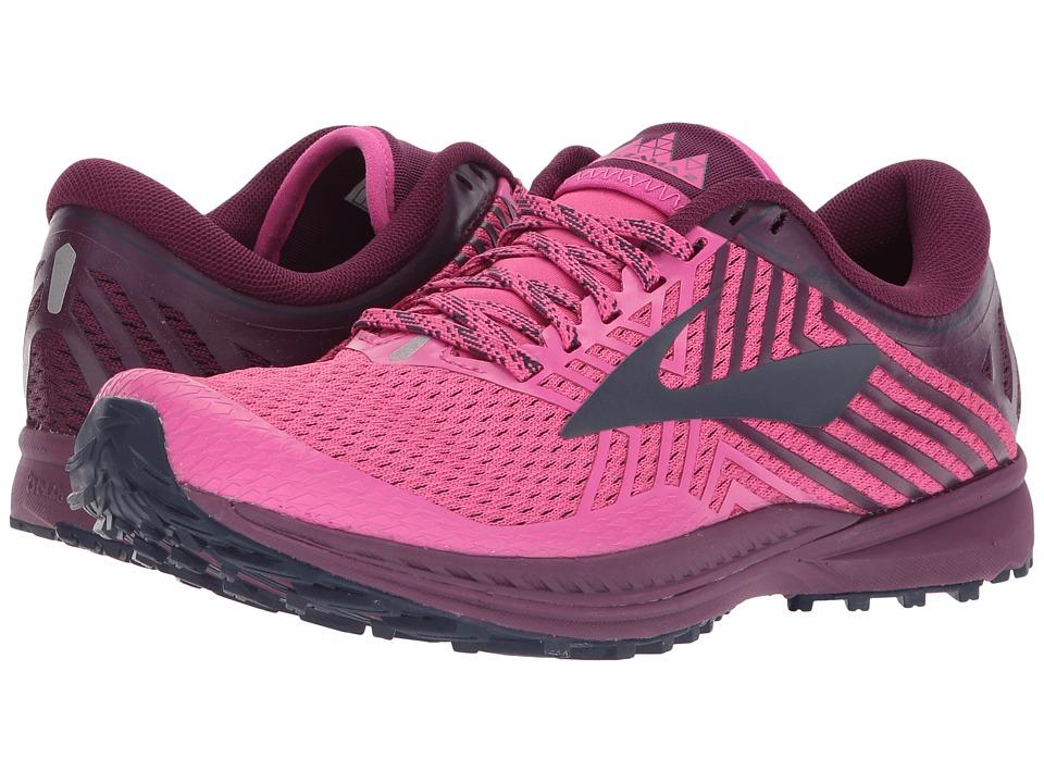 Brooks - Mazama 2 (Pink/Plum/Navy) Womens Running Shoes