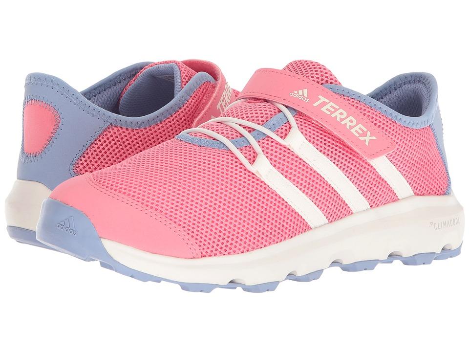 adidas Outdoor Kids - Terrex Climacool Voyager CF (Little Kid/Big Kid) (Aero Pink/Chalk White/Chalk Purple) Girls Shoes