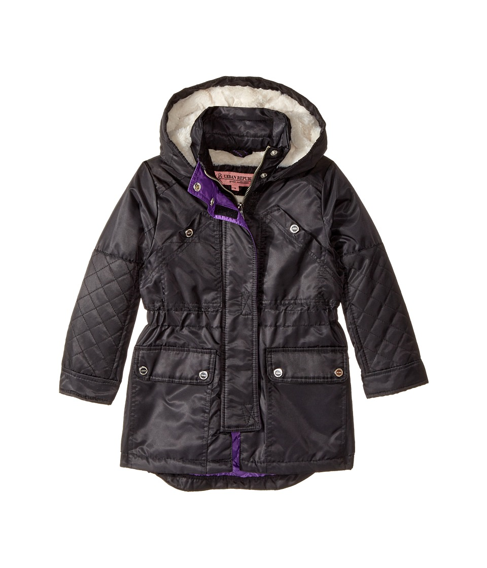 Urban Republic Kids - Poly-Twill Anorak with Quilted Lining