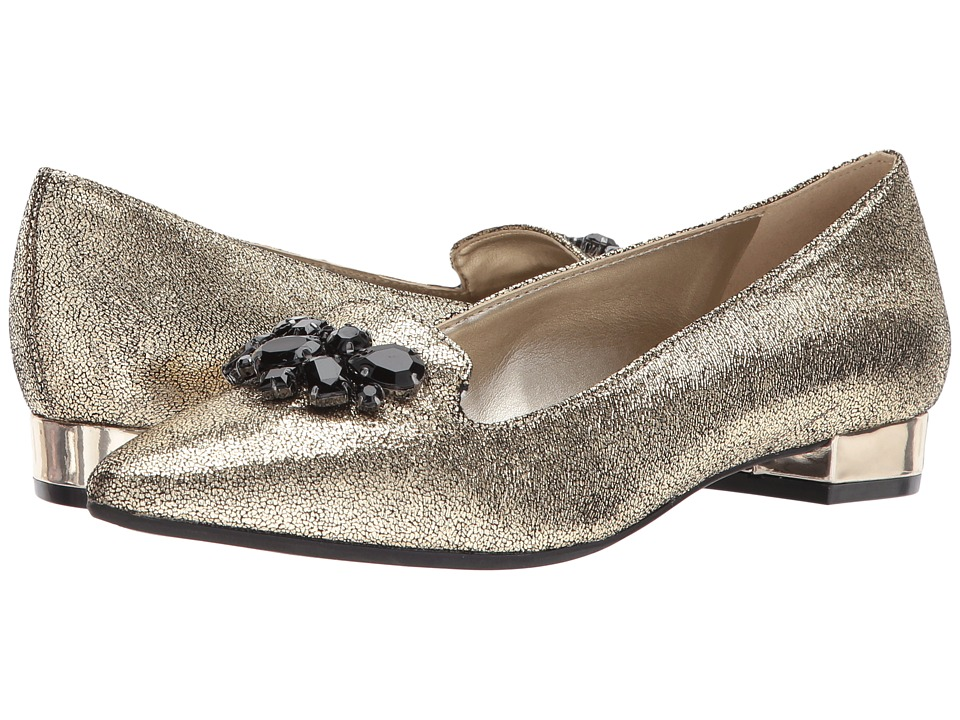 Anne Klein - Kamy (Gold Leather) Womens Shoes