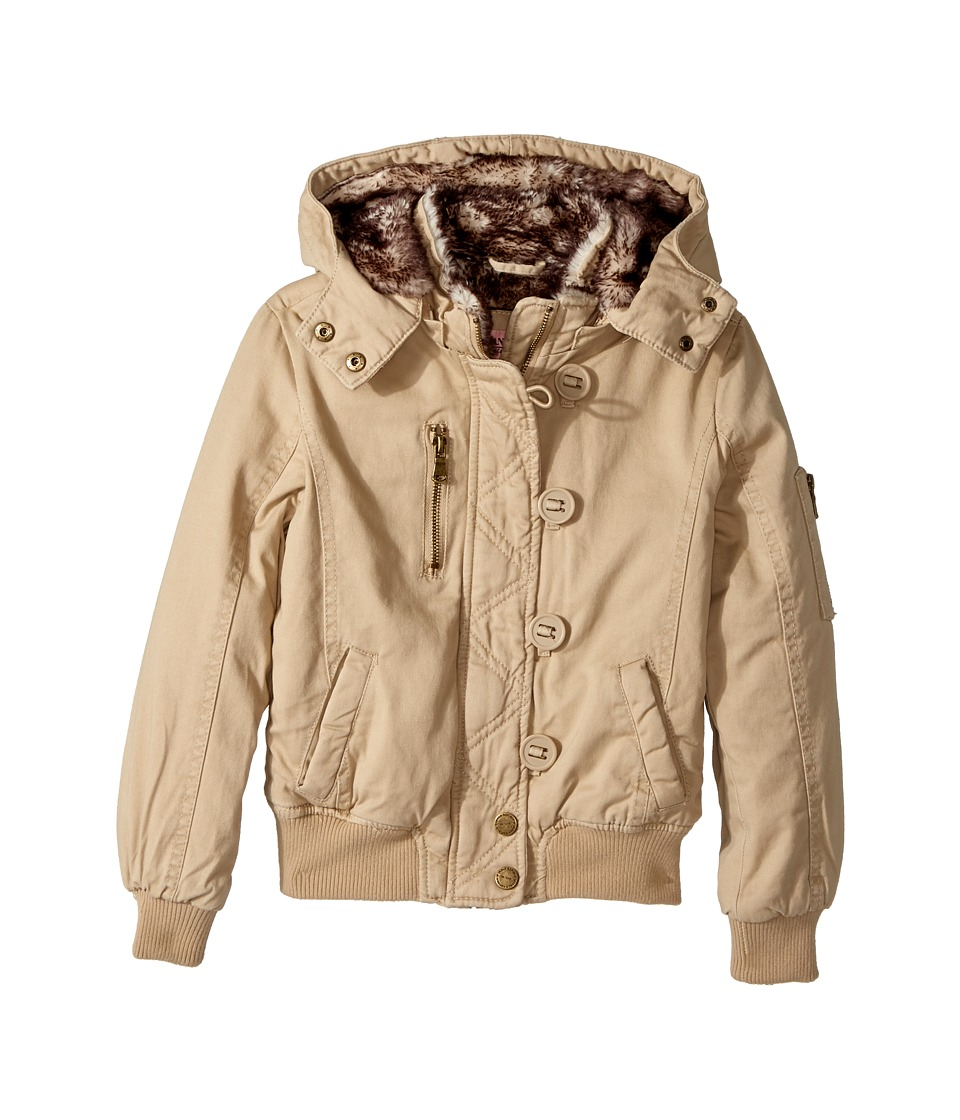 Urban Republic Kids - Cotton Twill Bomber with Faux Fur Lining