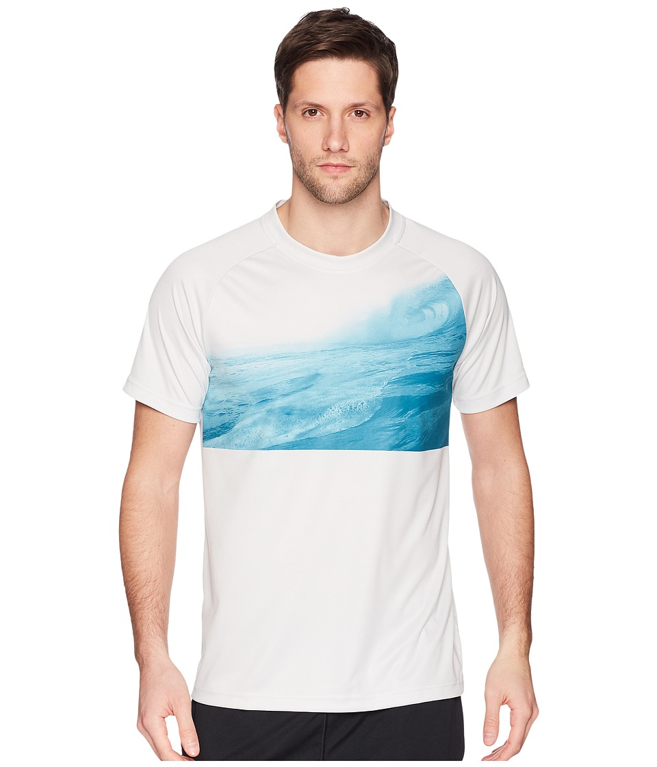 adidas Outdoor - Ampli Parley Tee 3 (Grey One) Mens T Shirt
