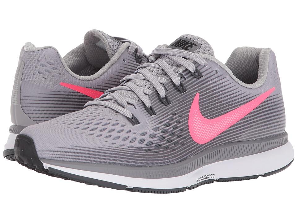 86c6fa99f3f2 Nike Air Zoom Pegasus 34 (Atmosphere Grey-Racer Pink-Gunsmoke) Womens  Running Shoes
