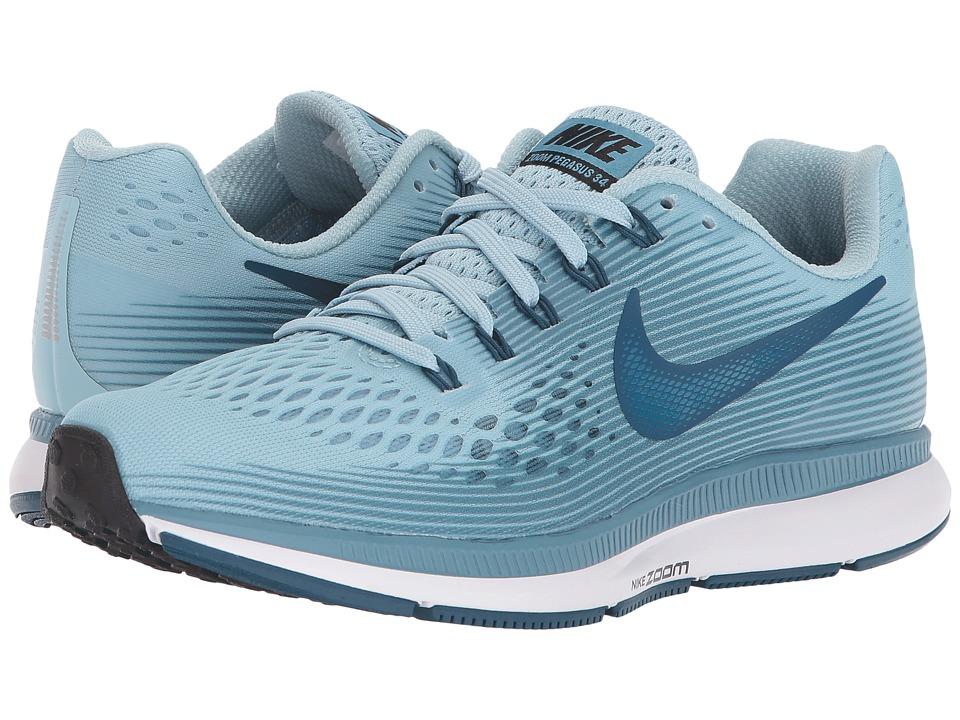 Nike Air Zoom Pegasus 34 (Ocean Bliss/Blue Force/Noise Aq...