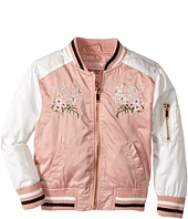 Urban Republic Kids - Satin Bomber with Chest Embroidery (Toddler)
