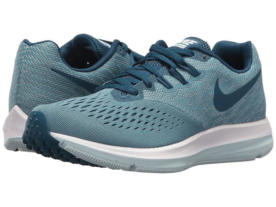 Nike Air Zoom Winflo 4 (Noise Aqua/Blue Force/Glacier Blu...