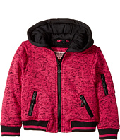 Urban Republic Kids - Melange Fleece Bomber with Woobie Lining (Toddler)