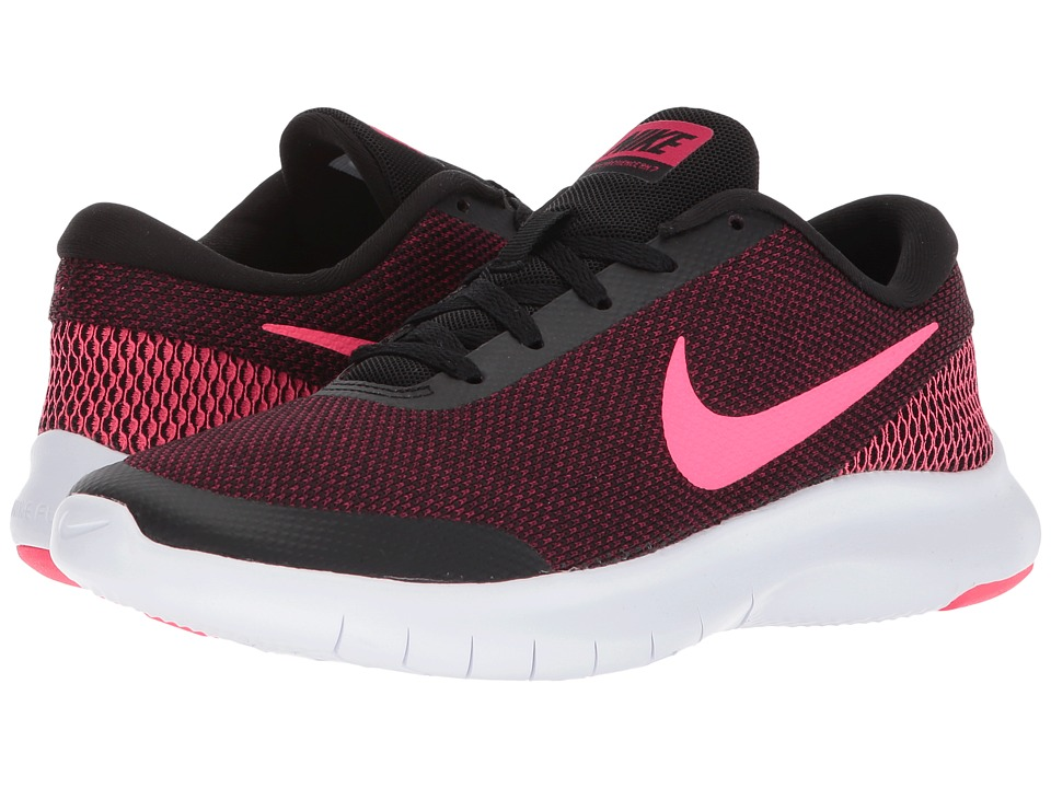 Nike Flex Experience RN 7 (Black/Racer Pink/Wild Cherry/White) Women's Running Shoes