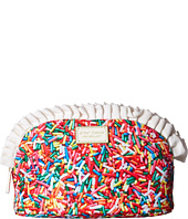 Betsey Johnson - Large Ruffle Cosmetic